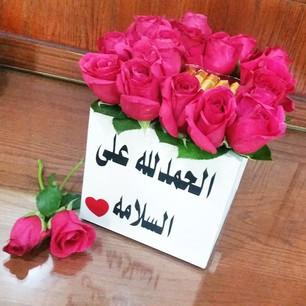 صورة صور الحمدلله على السلامه , ابعت امنيات جميلة لكل عائد الي وطنة