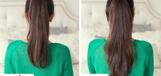 صوره اسرع طرق لتطويل الشعر , الطريقه السريعه والطبيعيه لزيادة طول شعرك