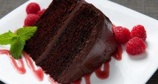 طريقة تحضير الكيك بالشوكولاته , اسهل طرق تحضير كيكة الشوكولاتة