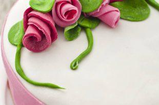 صوره عجينة السكر منال العالم , طريقة تحضير عجينة السكر للتورات