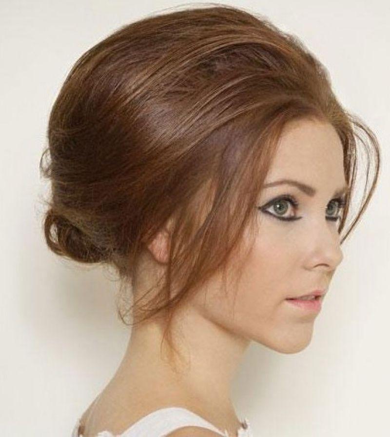 بالصور اجمل انواع تسريحات رفع الشعر , تسريحة شعر للبنات الجميلة 535 3