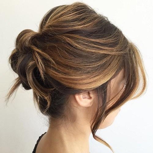 بالصور اجمل انواع تسريحات رفع الشعر , تسريحة شعر للبنات الجميلة 535 4