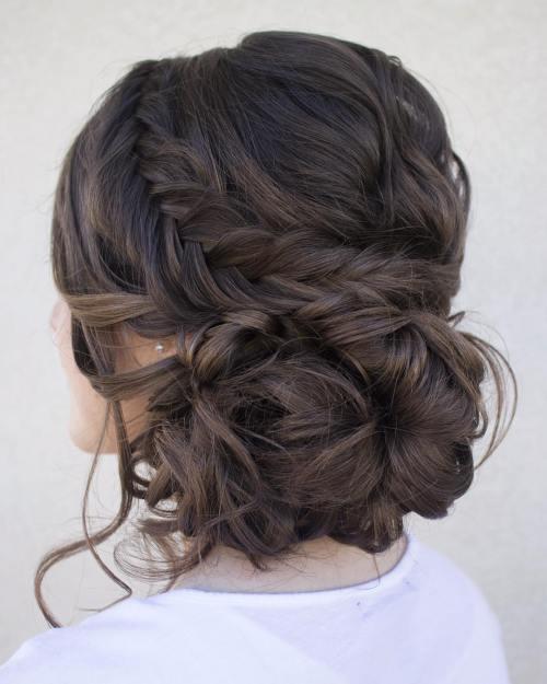 بالصور اجمل انواع تسريحات رفع الشعر , تسريحة شعر للبنات الجميلة 535 7