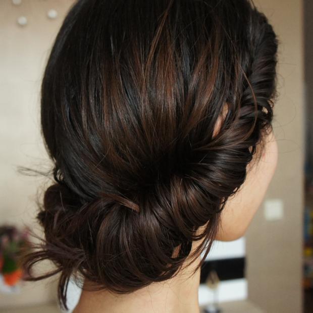 بالصور اجمل انواع تسريحات رفع الشعر , تسريحة شعر للبنات الجميلة 535