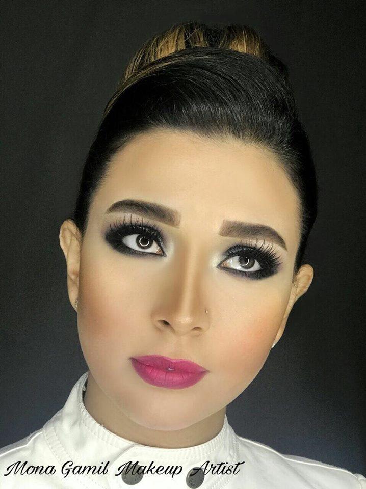 بالصور حصرى مكياج عادل المصرى وليلى المصرى , اجمل صور ميك اب رائع 537 3