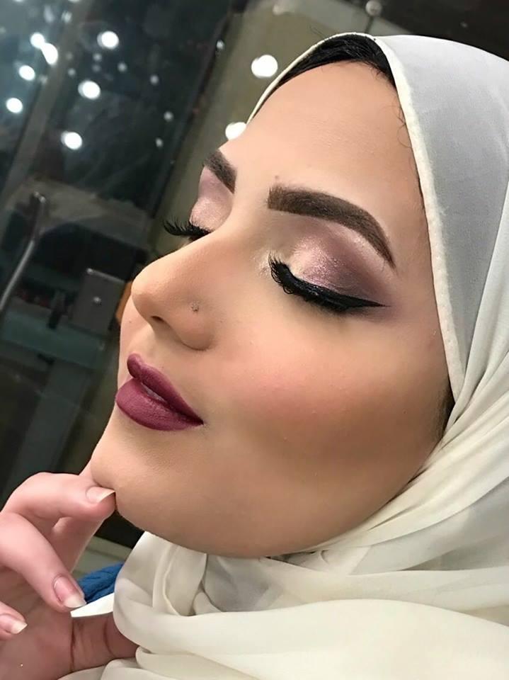 بالصور حصرى مكياج عادل المصرى وليلى المصرى , اجمل صور ميك اب رائع 537 7