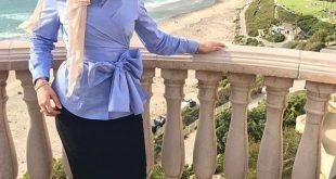 صوره احدث ملابس المحجبات صيف 2018 , ازياء خلال فصل الصيف للمحجبة
