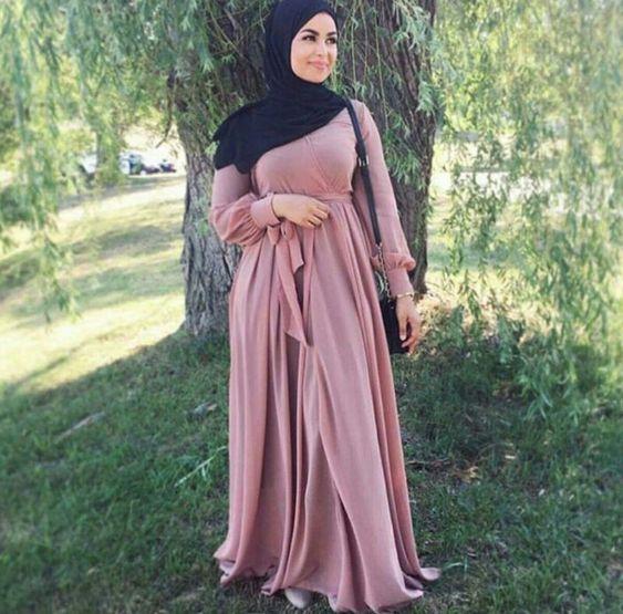 بالصور احدث ملابس المحجبات صيف 2019 , ازياء خلال فصل الصيف للمحجبة 549 2