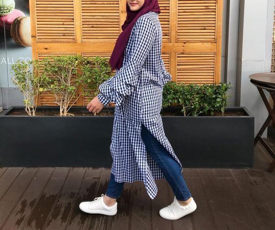 بالصور احدث ملابس المحجبات صيف 2019 , ازياء خلال فصل الصيف للمحجبة 549 3