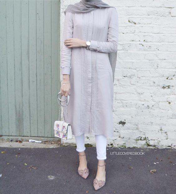 بالصور احدث ملابس المحجبات صيف 2019 , ازياء خلال فصل الصيف للمحجبة 549 4