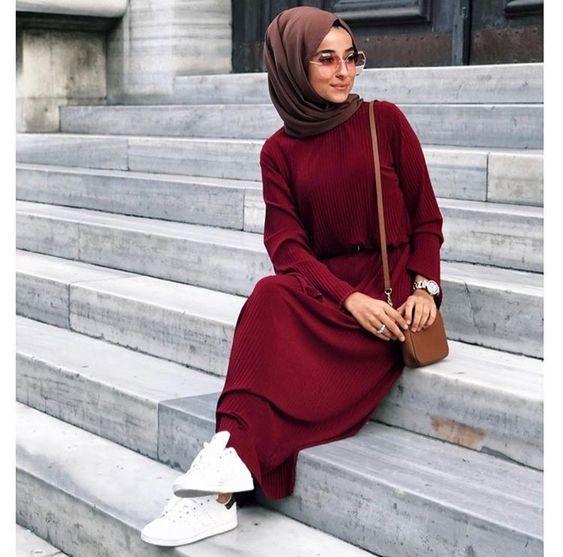 بالصور احدث ملابس المحجبات صيف 2019 , ازياء خلال فصل الصيف للمحجبة 549 7