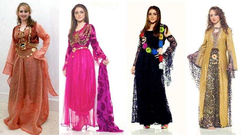 بالصور موديلات ملابس كردية 2019 , اجمل ازياء من كردستان العراق رائعة 550 1