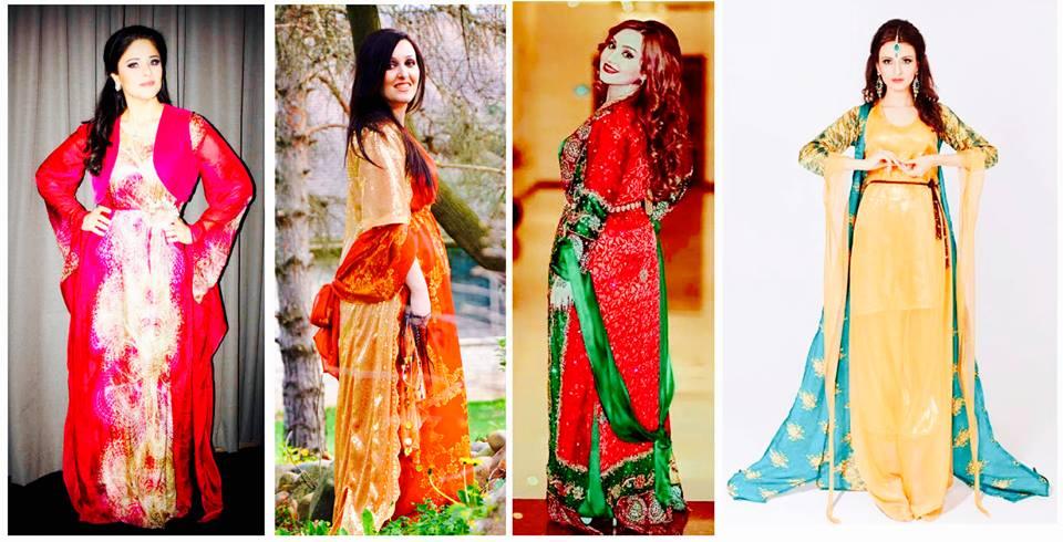 بالصور موديلات ملابس كردية 2019 , اجمل ازياء من كردستان العراق رائعة 550 10