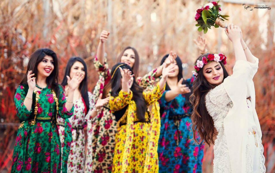 بالصور موديلات ملابس كردية 2019 , اجمل ازياء من كردستان العراق رائعة 550 11
