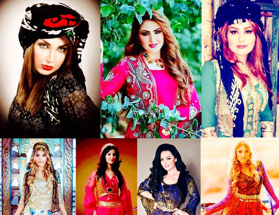 بالصور موديلات ملابس كردية 2019 , اجمل ازياء من كردستان العراق رائعة 550 4