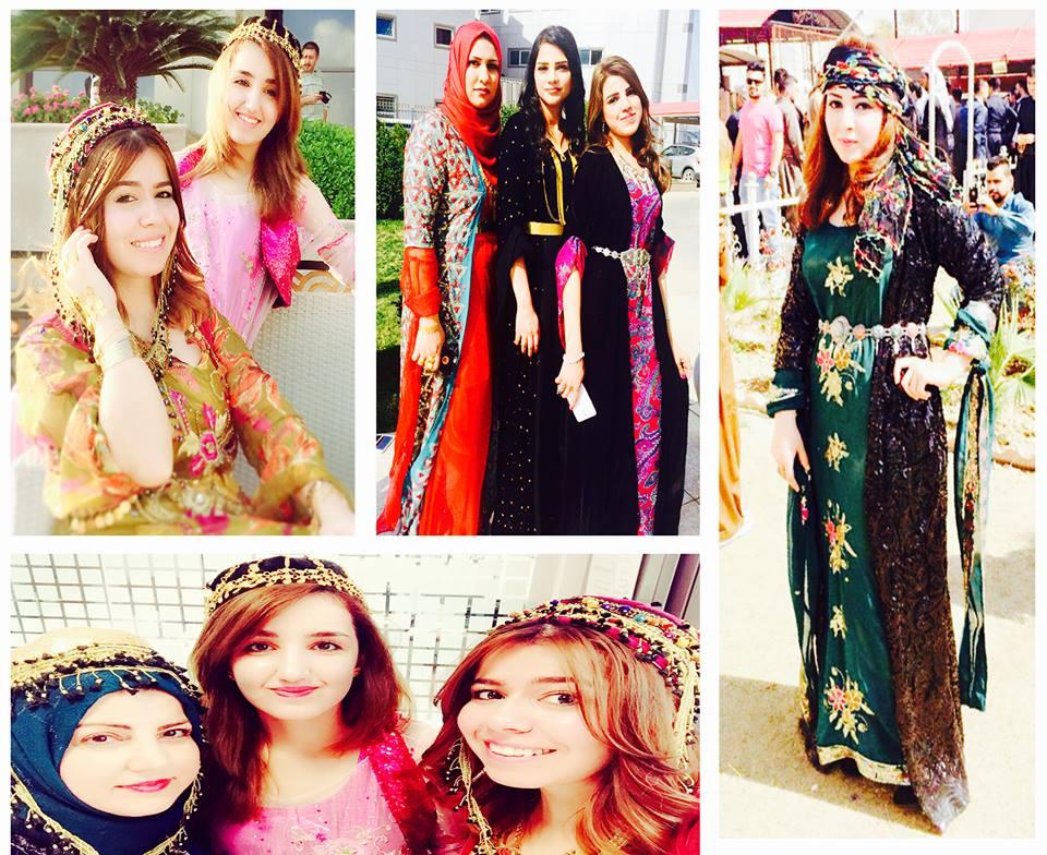 بالصور موديلات ملابس كردية 2019 , اجمل ازياء من كردستان العراق رائعة 550 5