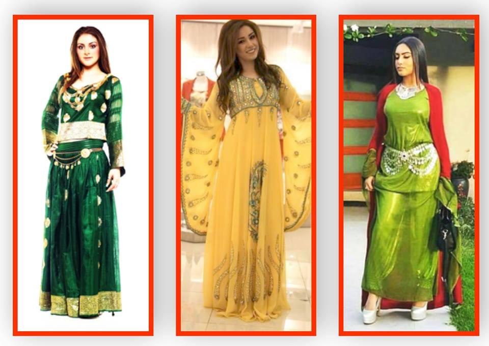 بالصور موديلات ملابس كردية 2019 , اجمل ازياء من كردستان العراق رائعة 550 7