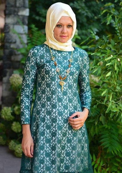 بالصور موديلات حجابات تركية صيفية , اجمل ستايل ملابس نسائية 553 2