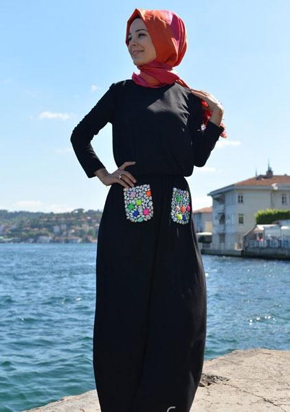 بالصور موديلات حجابات تركية صيفية , اجمل ستايل ملابس نسائية 553 3