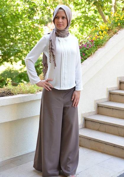 بالصور موديلات حجابات تركية صيفية , اجمل ستايل ملابس نسائية 553 5