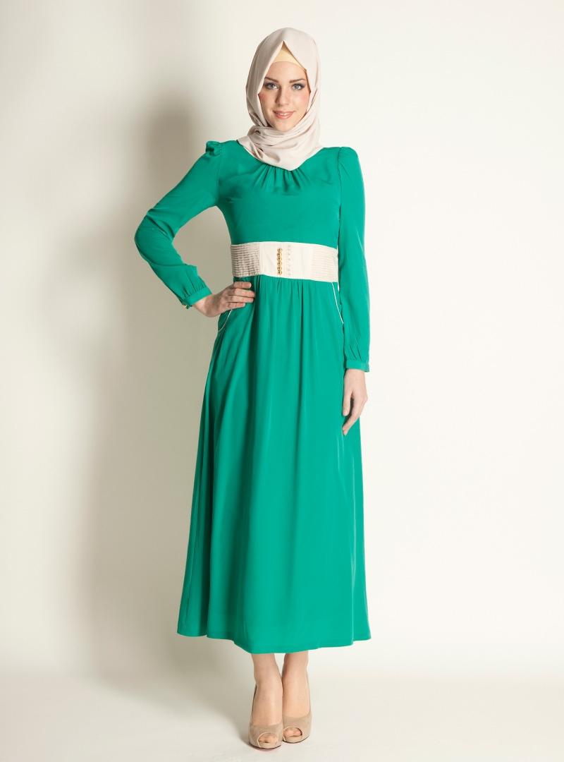 بالصور موديلات حجابات تركية صيفية , اجمل ستايل ملابس نسائية 553 8