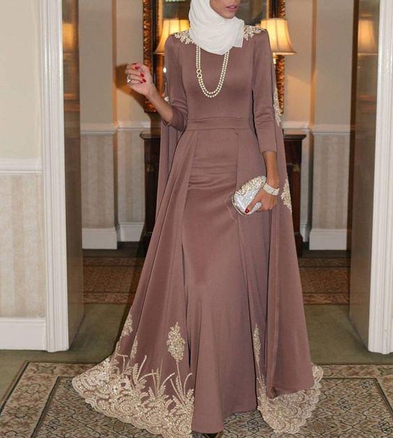 صورة حجابات بالدونتال 2020 , اجمل فساتين بناتي روعة