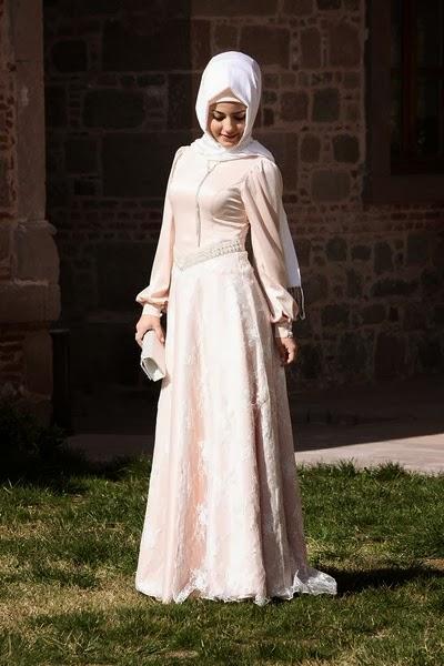 بالصور موديلات حجابات بالدونتال , اروع فساتين محجبات 563 5