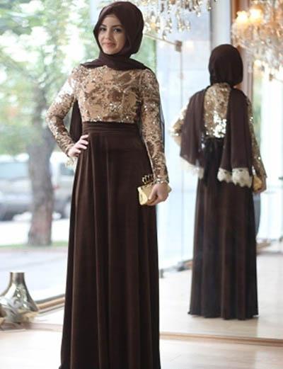 بالصور موديلات حجابات بالدونتال , اروع فساتين محجبات 563 6