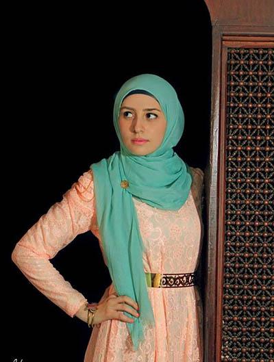 بالصور موديلات حجابات بالدونتال , اروع فساتين محجبات 563 8