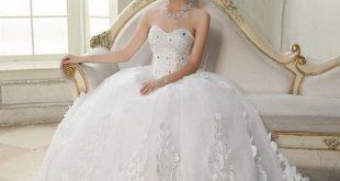 صوره احلى فساتين زفاف , صور اجمل فساتين افراح