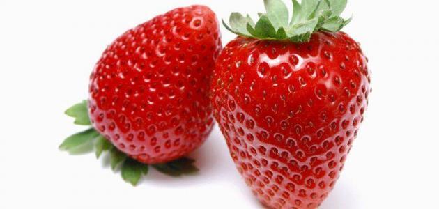صورة فوائد الفراولة , اهمية الفراولة للصحة