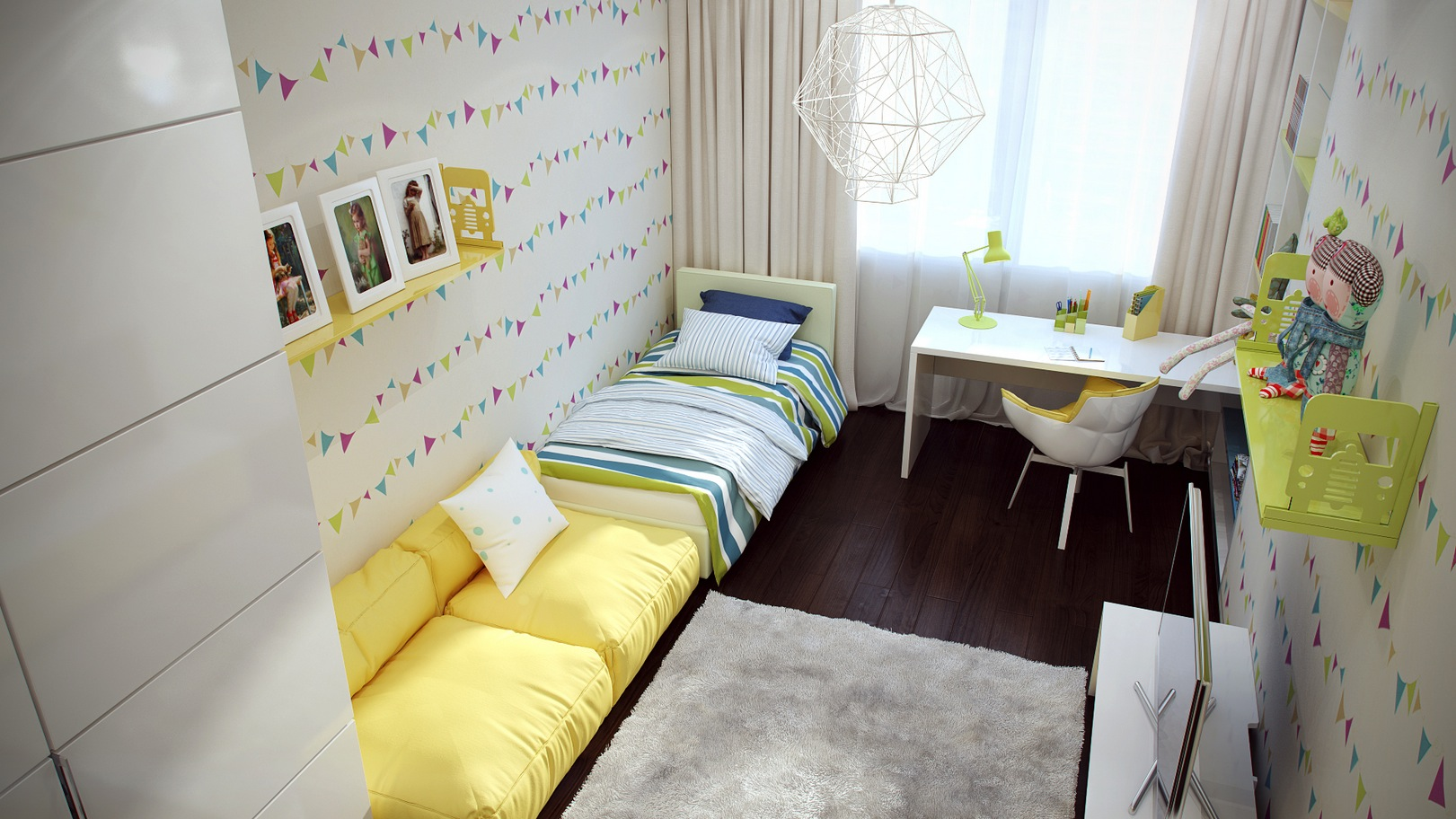 اجمل الوان تناسب غرف نوم الاطفال , الافكار المناسبه لاختيار لون