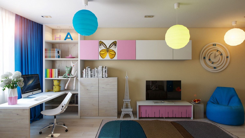 صوره اجمل الوان تناسب غرف نوم الاطفال , الافكار المناسبه لاختيار لون غرفه طفلك