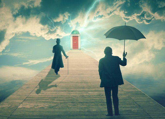 صورة رؤية شخص في المنام , تفسير حلم اشخاص غريبة