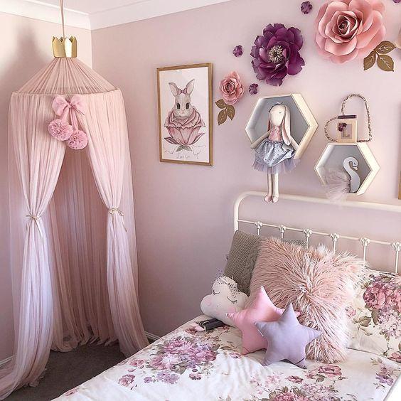 بالصور ديكورات غرف اطفال بنات , اجمل صور ديكورات حجر نوم بناتي 718 1