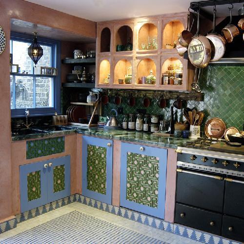 بالصور ديكور المطبخ المغربي البسيط , اجمل صور ديكورات مطابخ مغربية 722 4