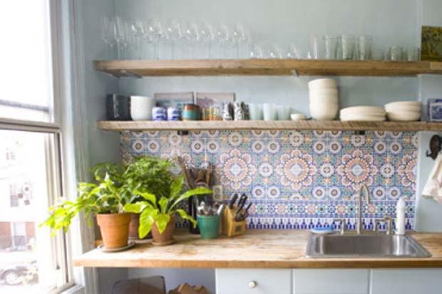 بالصور ديكور المطبخ المغربي البسيط , اجمل صور ديكورات مطابخ مغربية