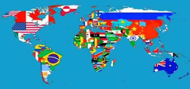 صوره دول العالم حسب المساحة , تعرف على معلومات حول عالم