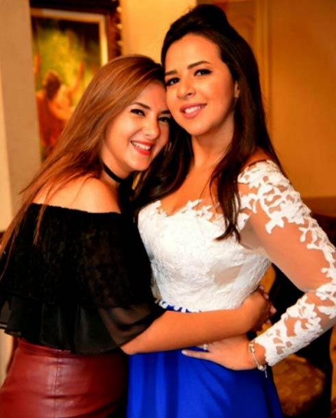 صورة دنيا سمير غانم واختها , صور بنات الفنان سمير غانم