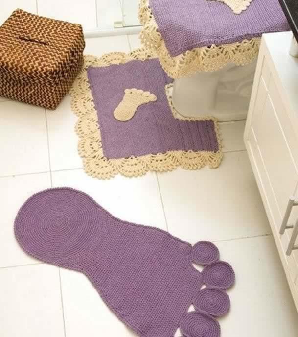 بالصور اطقم حمامات كروشية بالباترون , اجمل اطقم حمام من الكروشية 859 2