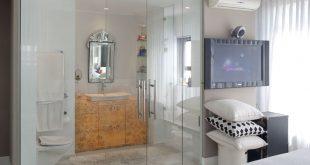 صور حمامات داخل غرف النوم , صور ديكورات حمامات داخلية
