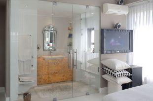 صوره حمامات داخل غرف النوم , صور ديكورات حمامات داخلية
