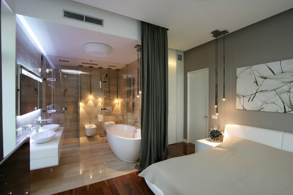 بالصور حمامات داخل غرف النوم , صور ديكورات حمامات داخلية 872 3