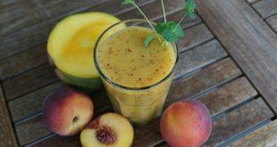 صور فوائد عصير الخوخ , فايدة شراب عصير الخوخ الفريش
