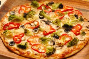 صوره عجينة العشر دقائق للبيتزا , طريقة تجهيز عجينة البيتزا السهلة