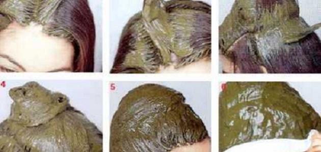 صورة طريقة عمل حناء للشعر , اسهل طريقة لتغير لون الشعر بالحناء