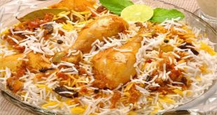 صوره طريقة عمل الرز البخاري , تحضير طبق الارز البخاري بالدجاج
