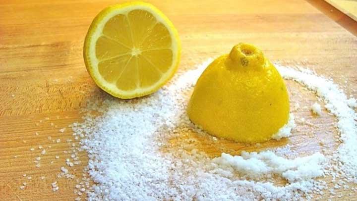 صورة فوائد ملح الليمون لتبييض , خلطات طبيعية لتفتيح الجسم