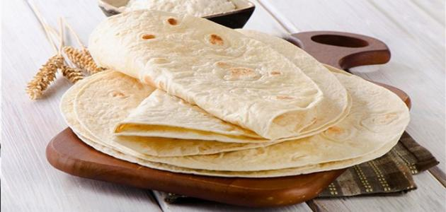 صورة طريقة تحضير خبز الشاورما , كيفية تحضير خبز الشاورما
