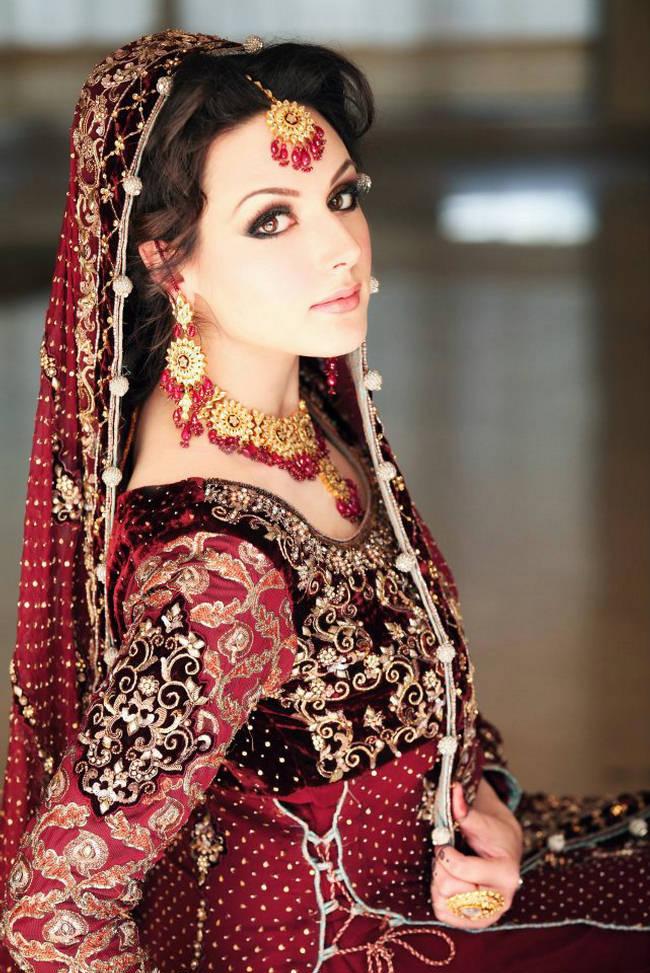 بالصور اجمل بنات في الهند , خلفيات فتيات هندية بالساري 1329 5